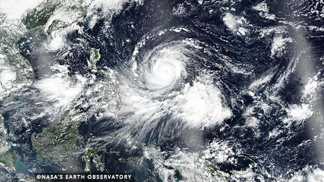 Orkaan Philipijnen